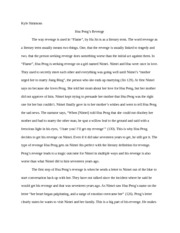 Revenge Essay on Flame