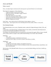 SYO4400 Stres and Health Quiz Notes.docx