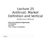 Lecture25_MarketDef_VertIntegration_Econ121_Fall2010