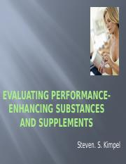 Performance Enhancing supplements.pptx