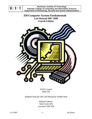 350 Lab Manual Rev 4a