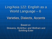 10-Ling 122-6 - Dialects