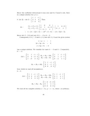 Linear Algebra Solutions 43
