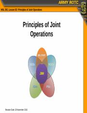 MS2 class- joint ops