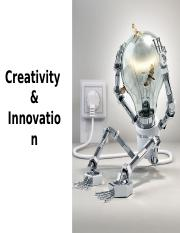 Creativity & Innovation - technique