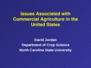 CS 462 US Farming considerations