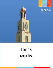 Lect-15 ArrayList.pptx