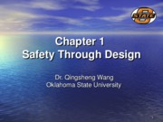 Chapter 1 Safety through Design