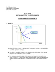 Solution to Problem Set 04 _ECO100_