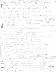 PHYS 125 Midterm Exam Cheat Sheet