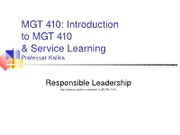 MGT 410 Fall12 Present 1 IntroS