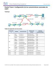 5.1.5.7 Packet Tracer - Configuring OSPF Advanced Features Instructions.docx