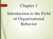 Lecture 2 (Chapter 1 Intro to OB)
