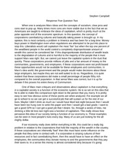 Phil paper 5 Response Five Question Two Marx ideas
