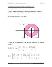 chapter_4 pdf - Chapter 4 Inverse Manipulator kinematics