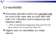 Personality Disorders Part 2