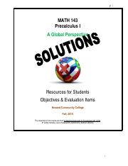 Precalculus with limits pdf - Precalculus with limits pdf