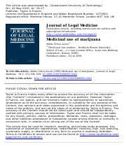 Medicinal use of marijuana.pdf