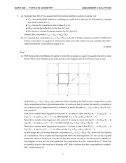 MATH 348 2014 Assignment 2 Solutions