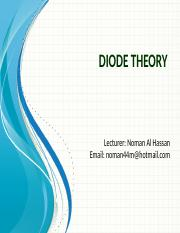 3 - Diode Theory.pptx
