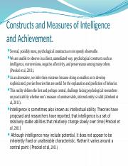 Constructs and Measures of Intelligence and Achievement.pptx