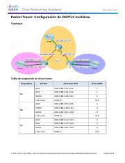 6.2.3.7 Packet Tracer - Configuring Multiarea OSPFv3 Instructions.docx