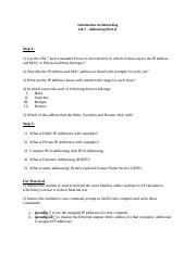 Introduction to Networking - Lab Activity 07 (Addressing - Part 2).docx