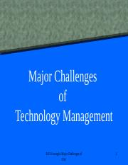 520-32+Major+Challenges+of+Technology+Management