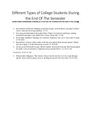 Different Types of College Students During the End Of The Semester.pdf