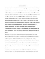 history of the piano essay summary of the pianos invention the 2 pages the origin of music