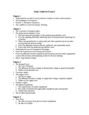 econ 207 exam 1 notes Economics notes [pdf library] - free  the salient features are ~ 1 economics is a social science:  economics exam technique guide uploaded by malcewan.