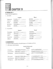 Latin 102 S13 Ch19 Workbook Answers