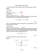ENEE303_Midterm 2 - Solution
