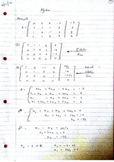 Phenomena Encountered In Solving Systems of Equations Class Notes 1