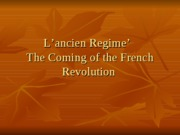 importance of the french revolution King louis xvi, maximilien de robespierre, georges danton and napoleon bonaparte were important people during the french revolution during this period between 1789.
