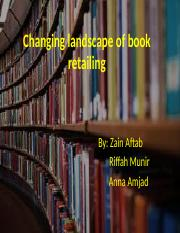 Changing landscape of book retailing.pptx