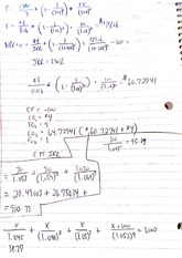 Managerial Finance Class Notes 5