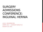 Surg AdCon Indirect Inguinal Hernia LISA