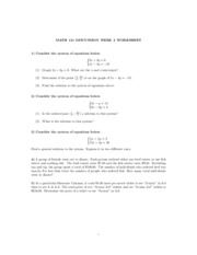 Math121 discussion - 2nd week