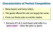 Lecture 8 Slides-Perfect Competition