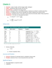 chemistry notes ch1