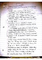 Lecture Notes on Immanuel Kant Reading