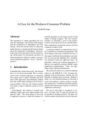 A Case for the Producer-Consumer Problem.pdf