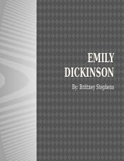 Emily Dickinson power point.pptx