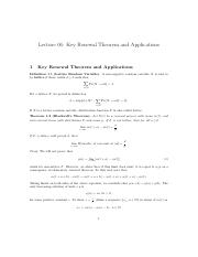 Lecture-06 Limit Theorems in Renewal Theory