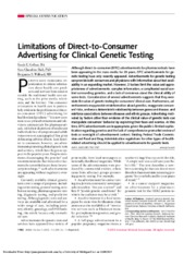 Limitations of Derect-toConsumer Advertising for Clinical Genetic Testing_2002.pdf
