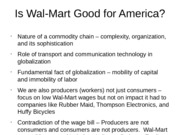 wal mart good or bad essay