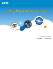DWDM Network Design Procedure