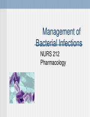 Mngmt_Bacterial_Infection~Part_1~Fall_16.ppt