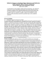 Reflective Essays for web.doc
